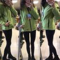 ČERVA DVINA Bunda softshellová dámská světle zelená