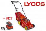 Sekačka akumulátorová WOLF-Garten LYCOS 40/340 M + SET akumulátor a nabíječka