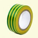 Páska izolační PVC 19 mm x 33 m zelenožlutá