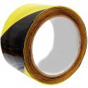 Páska výstražná černožlutá 50 mm návin 33 m