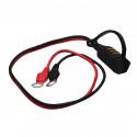 Kabel CTEK nabíječky, kabelové oka 8 mm, 40 cm