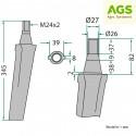 Nůž rotačních bran VOGEL NOOT RH-19 500001