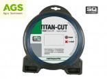Žací struna NYLON TITAN-CUT 3,0 mm 44 m s čtvercovým profilem