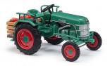 BUSCH 40070 Traktor KRAMER KL 11 zelený 1:87