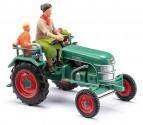 BUSCH 40071 Traktor KRAMER KL 11 zelený 1:87
