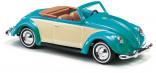 BUSCH 46714 Auto VW Brouk CABRIO zelený 1:87