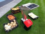 Drtič ovoce a zeleniny VARES FRUIT SHARK MEGALODON 2,5 kW, celonerezový