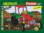 Stavebnice MERKUR 3321 FARMER SET 341 ks
