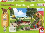 Schmidt Puzzle Farma sklizeň 60 dílků