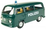 Auto VW mikrobus policie zelené KOVAP 0632