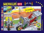 Stavebnice MERKUR 1525 MOTOCYKL SET 222 ks
