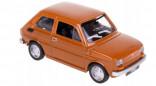DAFFI B-204 Auto Fiat 126p hnědý 1:43