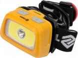 Svítilna čelovka LED XPE CREE 3W + COB LED 3W VOREL BY TOYA