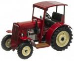 Traktor SCHLÜTER DS 25 červený se střechou KOVAP 36801
