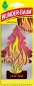 WUNDER-BAUM RED HOT Osvěžovač stromeček 5g
