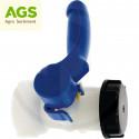 Ventil plastový nádrže IBC-60-WH závit S60 x 6 mm