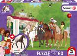 Schmidt Puzzle Jízdárna a koníci 60 dílů