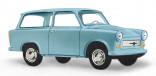 BUSCH 53200 Auto Trabant P601 Kombi modrý 1:87