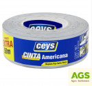 Páska izolační Express Tape CEYS 50 mm x 50 m stříbrná