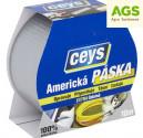 Páska izolační Express Tape CEYS 50 mm x 10 m stříbrná