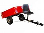Vozík přívěsný VARES HV 350-7 pneu 145 x 70-8