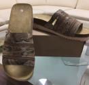 Obuv pracovní sandál MALLORCA s páskem hnědý