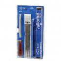 Sada pilníků a nářadí na broušení pilových řetězů VALLORBE 5,5 mm