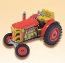 Traktor ZETOR červený KOVAP 0380