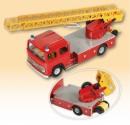 Auto MB hasiči s vysunovacím žebříkem KOVAP 0622