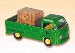 Auto VW valník servisní JOHN DEERE zelený s nákladem