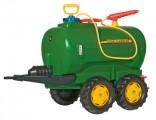 Rolly Toys Cisterna se stříkačkou JOHN DEERE JUMBO za šlapací traktory