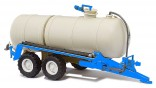 BUSCH 42860 Fekální cisterna na kejdu HTS 100.27 modrá 1:87