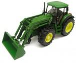 SIKU 3652 Traktor JOHN DEERE 6820 s čelním naklačem 1:32