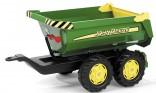 Návěs traktorový sklápěcí JOHN DEERE za šlapací traktory ROLLY TOYS