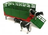 SIKU 2875 Návěs pro přepravu zemědělských zvířat 1:32