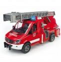 Požární auto MERCEDES SPRINTER s vysunovacím žebříkem BRUDER 02532