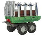 Návěs lesnický na dřevo TIMBER TRAILER za šlapací traktory ROLLY TOYS