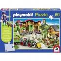Schmidt Puzzle PLAYMOBIL zemědělský statek 60 dílků