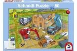 Schmidt Puzzle Stavba domečku 60 dílků