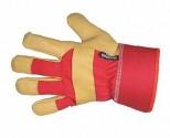 Rukavice pracovní zimní ROSE FINCH dámské červené