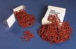 Sada fíbrových kroužků 18 druhů  105 ks