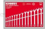 Sada klíčů očkoplochých 6 - 19 mm KENNEDY 14 dílů