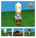 Silo pro krmivo a kukuřici GLOBE FARMING 571856