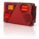 Svítilna zadní hranatá P LED 12V/24