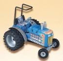 Traktor DRAGTOR modrý KOVAP 0371