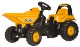 Rolly Toys Traktor šlapací JCB DUMPER s přední korbou