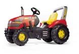 Rolly Toys Traktor šlapací X-TRAC RT.X + řadící páka + brzda