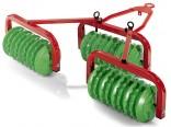 Vály CAMBRIDGE tažené za šlapací traktory ROLLY TOYS