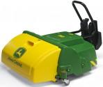 Čelní zametací kartáč JOHN DEERE pro šlapací traktory ROLLY TOYS